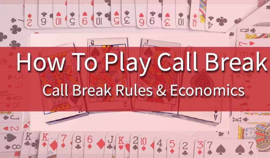 how to play call break card game rules